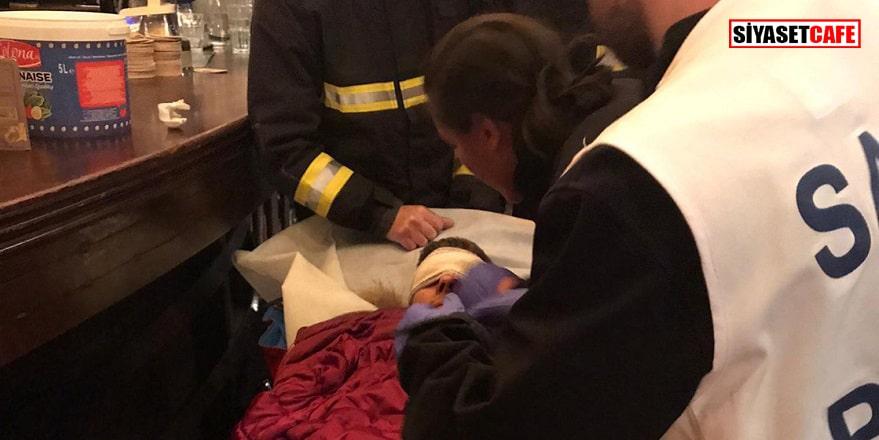 Türk gazeteci Paris'teki gösterilerde yaralandı
