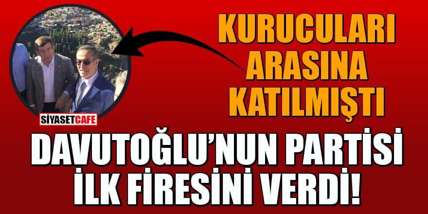 Kurucuları arasına katılmıştı! İhsan Özkes, Davutoğlu'nun partisinden ayrıldı