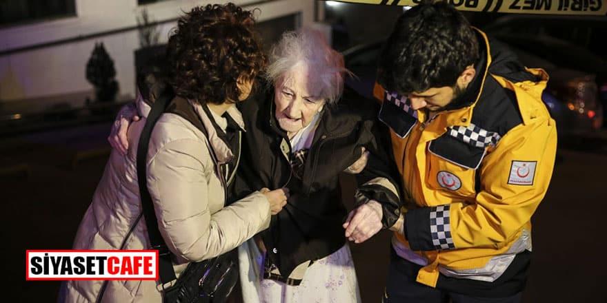 Ankara'da vahşet: Annesini yangında öldürdü