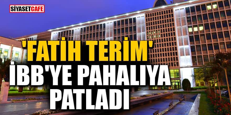 Başakşehir Fatih Terim Stadyumu İBB'ye pahalıya patladı! Bakanlığa devredilecek