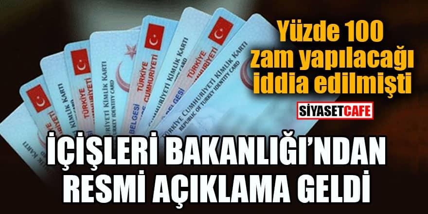 İçişleri Bakanlığından ehliyet, nüfus kağıdı ve pasaport ile ilgili resmi açıklama!