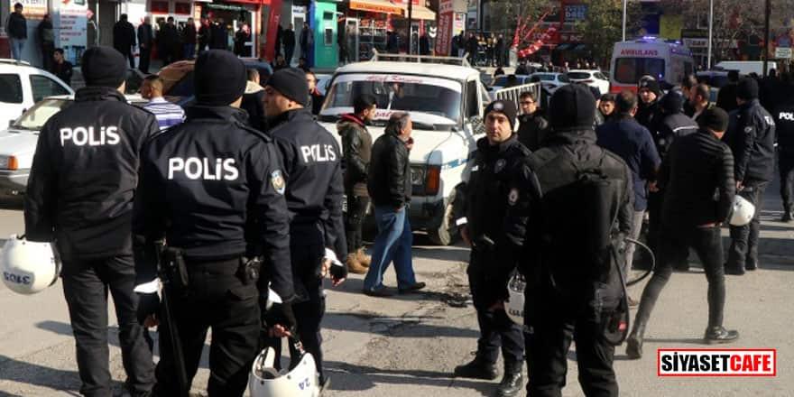 Erzincan karıştı: Silahlı çatışmada 20 gözaltı