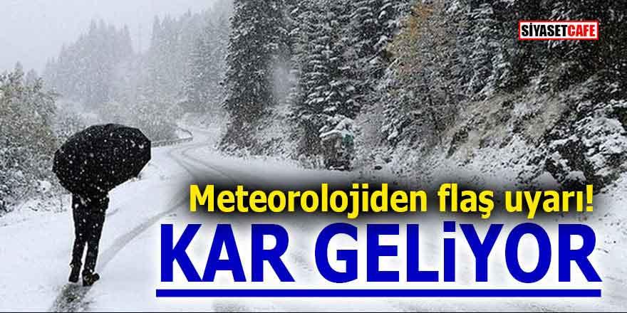 Meteoroloji'den son dakika kar yağışı uyarısı! 9 Aralık Pazartesi (yarın) okullar tatil mi?