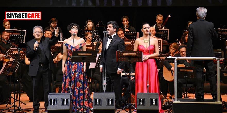 Ankara'da Zülfü Livaneli gecesi