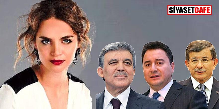 Tuğçe Kazaz'ın Davutoğlu, Babacan ve Gül paylaşımı olay oldu