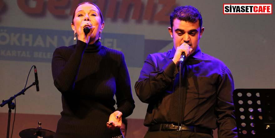 Zuhal Olcay ve otizm orkestrası aynı sahnede