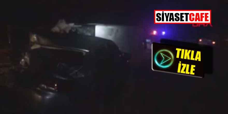 Kayseri'de feci kaza; 13 kişi yaralandı...