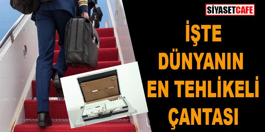 İşte dünyanın en tehlikeli çantası