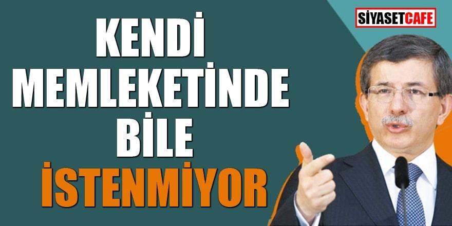 Konya Tanıtım Günleri'nde Ahmet Davutoğlu krizi! Kendi memleketinde bile istenmiyor