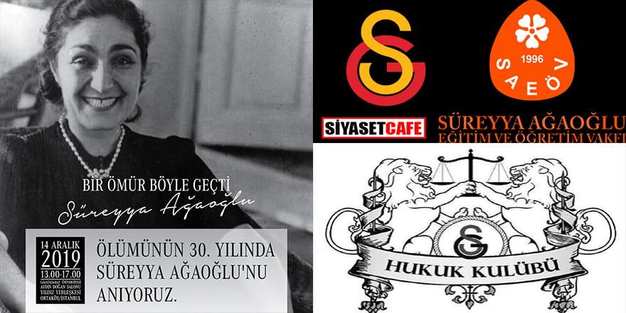 İlk kadın avukat Süreyya Ağaoğlu anılıyor