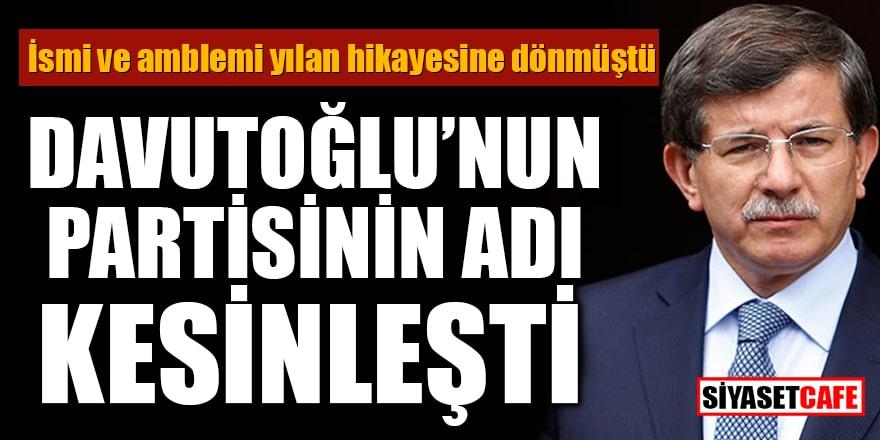 Fatih Altaylı duyurdu! Davutoğlu'nun partisinin adı kesinleşti
