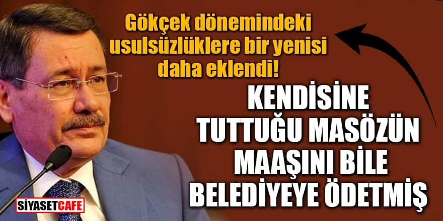 Gökçek kendine tuttuğu masözün maaşını Ankara Büyükşehir Belediyesi'ne ödetmiş