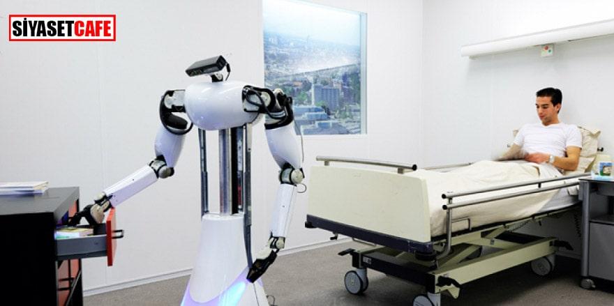 Hastanelerde robot refakatçi devri