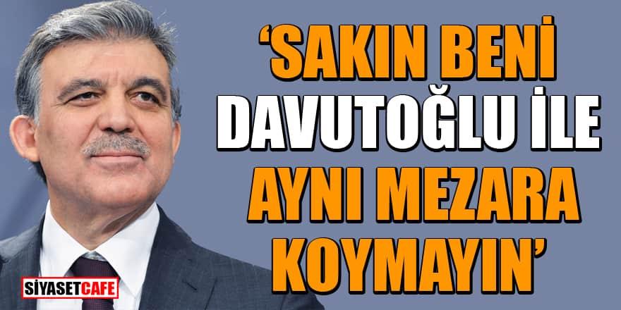 Erol Mütercimler, Ahmet Davutoğlu ve Abdullah Gül arasındaki büyük krizi açıkladı