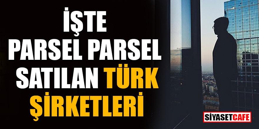 İşte parsel parsel satılan Türk şirketleri! Celal Eren Çelik yazdı