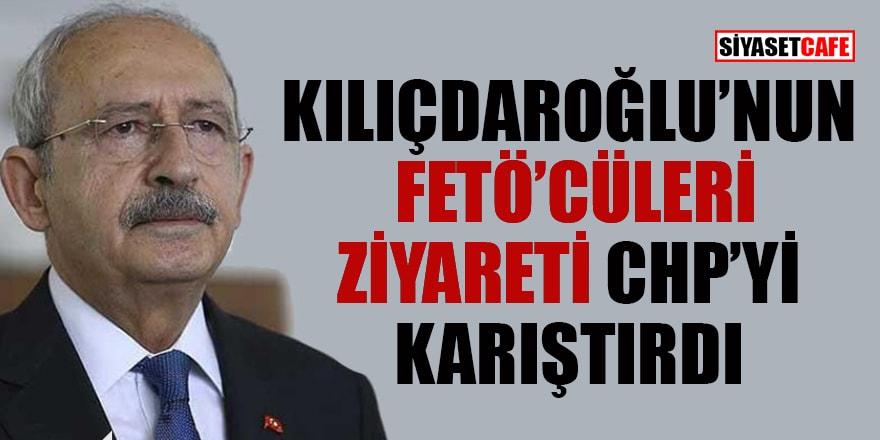 Kılıçdaroğlu'nun FETÖ hükümlüsünü ziyareti CHP'yi karıştırdı