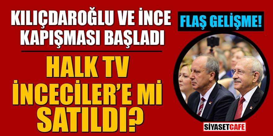 Halk Tv'de Kılıçdaroğlu- İnce kapışması! Baykal Halk Tv'yi İnceciler'e mi sattı?