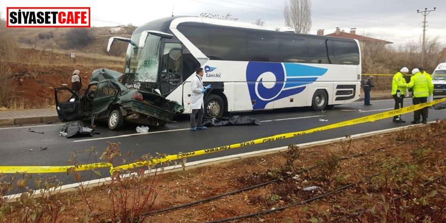Kırşehir'de bir baba ve 3 oğlu kazada yaşamını yitirdi