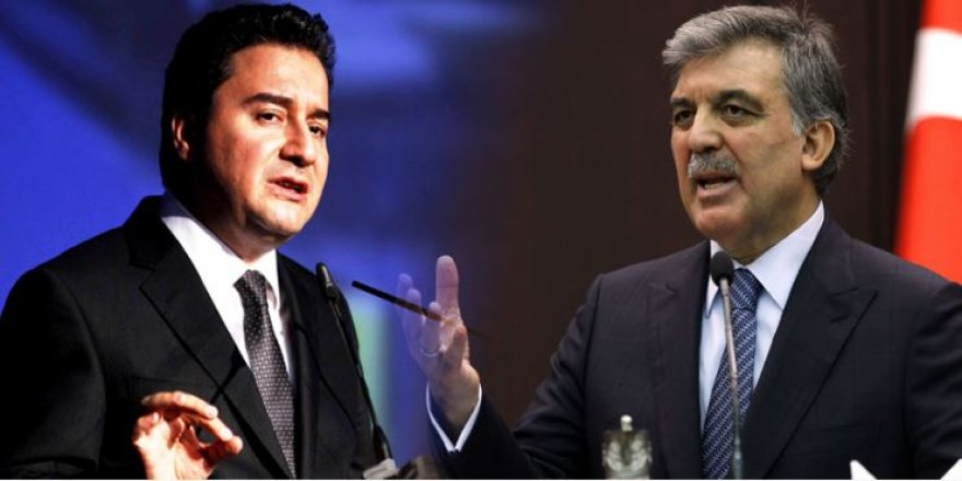 Gül ve Babacan'ın partisinin adı: SPP