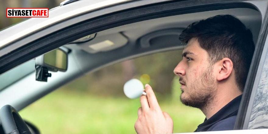 Yapay zeka sigara içen veya telefonla konuşan sürücüyü tespit edecek