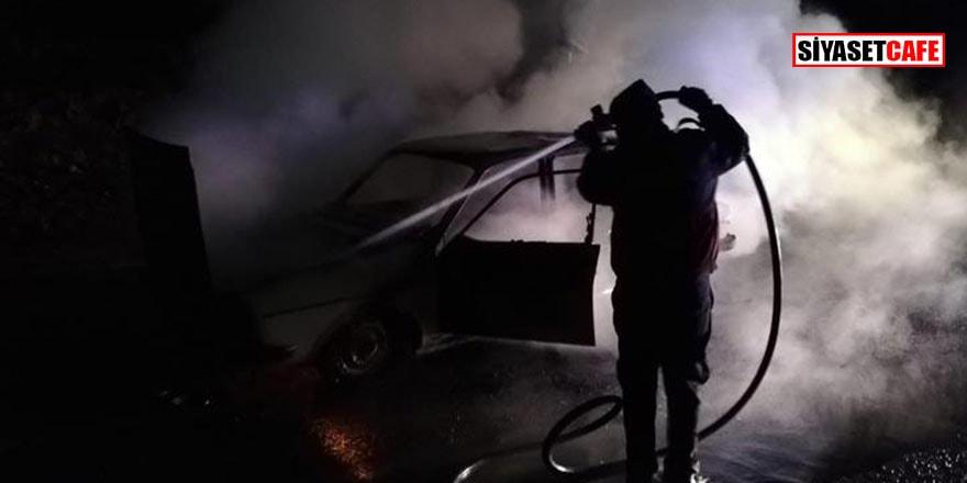 Kırşehir'de facia: Otomobilde yanarak öldü
