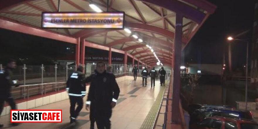 Esenler'de feci olay! Metro İstasyonu'nda 2 kişi bıçaklandı
