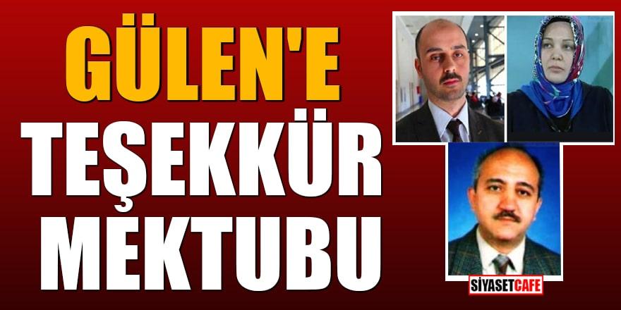 Atatürk düşmanı Öğüt ailesinden Gülen'e teşekkür mektubu