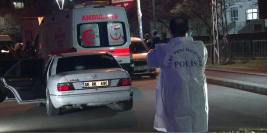 Ankara'da şok cinayet: Araçta kurşunladı, öldürdü!