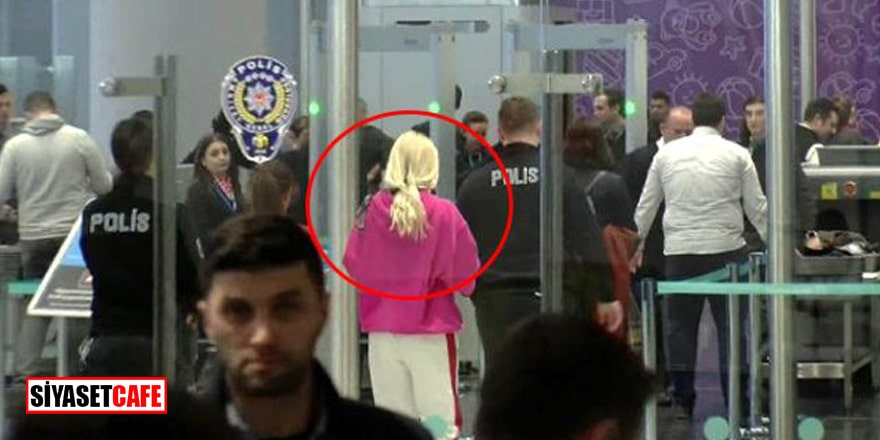 Havalimanında olay çıkaran Aleyna'nın açıklaması da tam bomba!