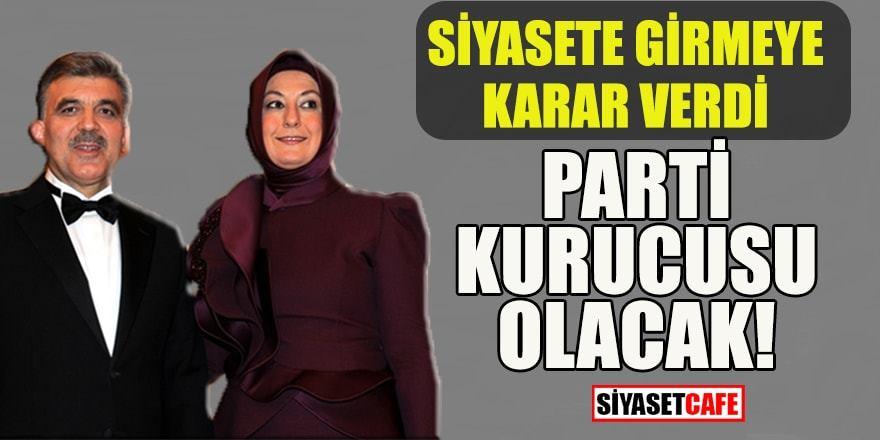 Hayrunnisa Gül siyasete giriyor, parti kurucusu olacak iddiası!