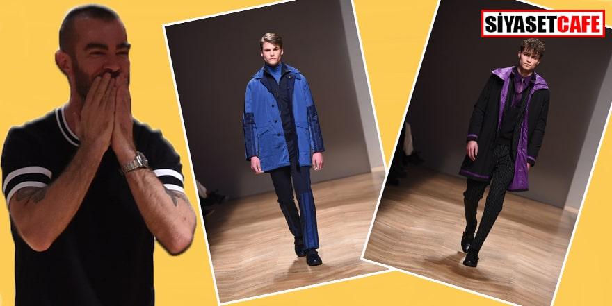 Milano Moda Haftası'nın tek Türk tasarımcısı göz kamaştırdı