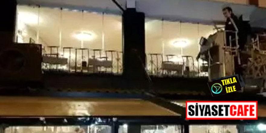 Bayrampaşa'da palalı saldırgan dehşeti! Vurularak yakalandı