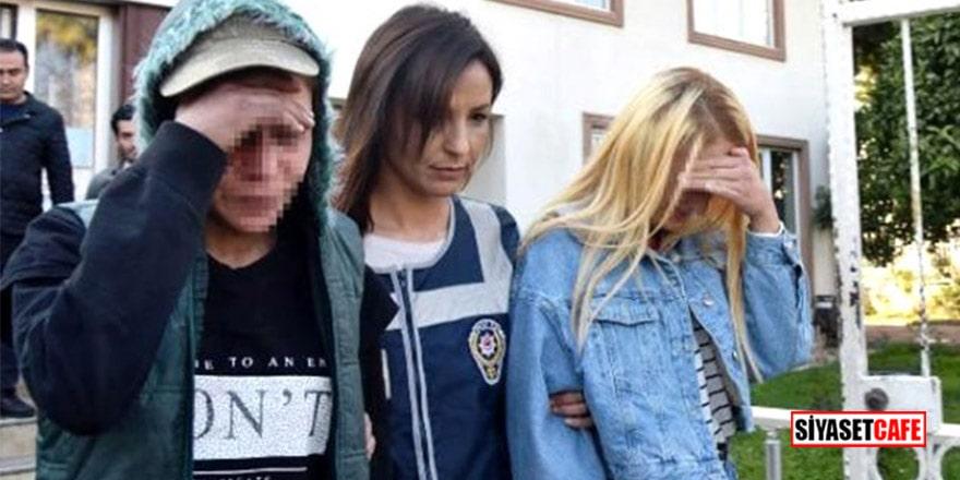 Antalya'da gasp yapan çete uyuşturucuyla alem yapıp saç boyattı