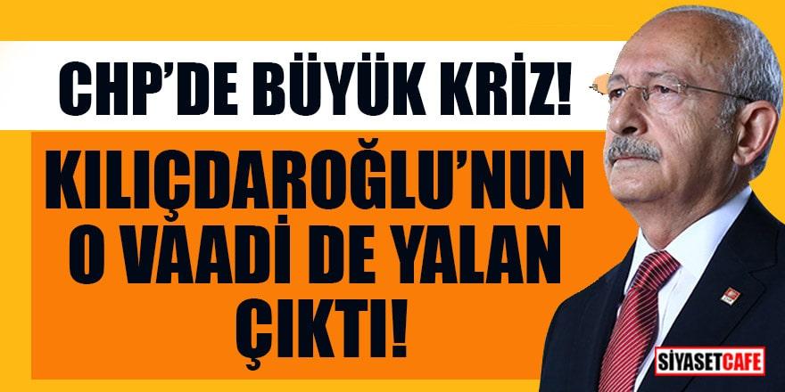 CHP'de büyük kriz! Kılıçdaroğlu'nun asgari ücret vaadi de yalan çıktı