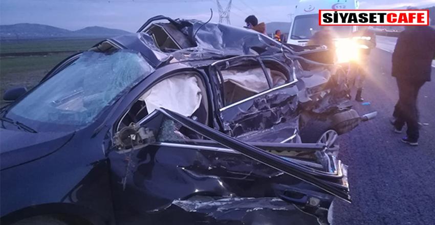 Gaziantep'te korkunç kaza:2 ölü 3 yaralı