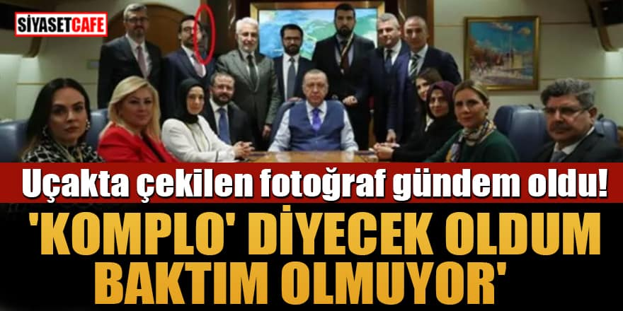 Ahmet Hakan uçakta çekilen fotoğrafta 'nasıl kaybolduğunu' anlattı!