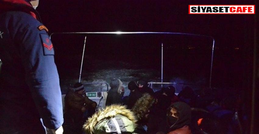 Balıkesir'de kaçmak istiyen 26 göçmen yakalandı