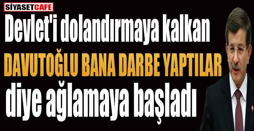 """Kayyum atanmasına Davutoğlu'ndan """"darbe yaptılar"""" açıklaması"""