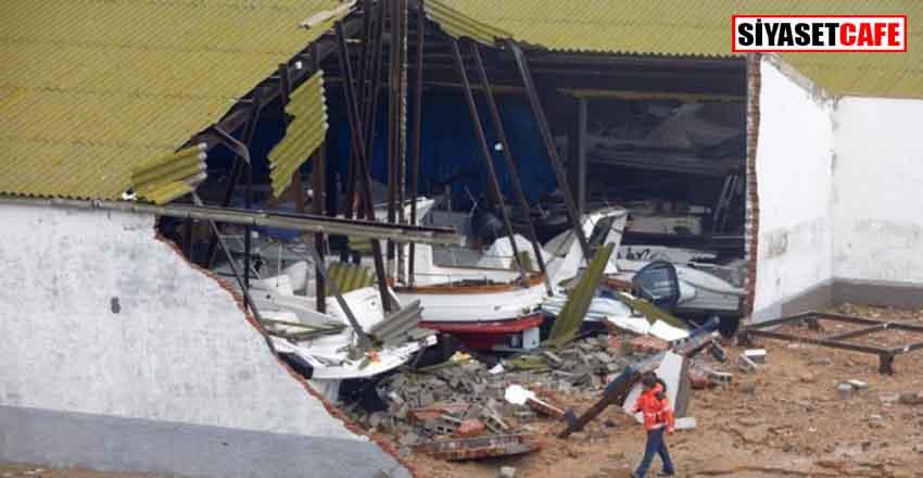 İspanya'da fırtınadan ölenlerin sayısı 8'e yükseldi