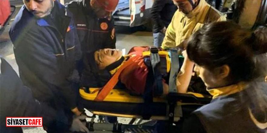 14 yaşındaki çocuğun dehşet anları! Kazada bacağı koptu