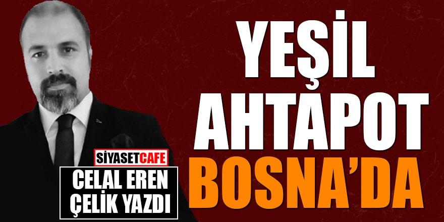 Celal Eren Çelik yazdı: 'Yeşil ahtapot' Bosna'da