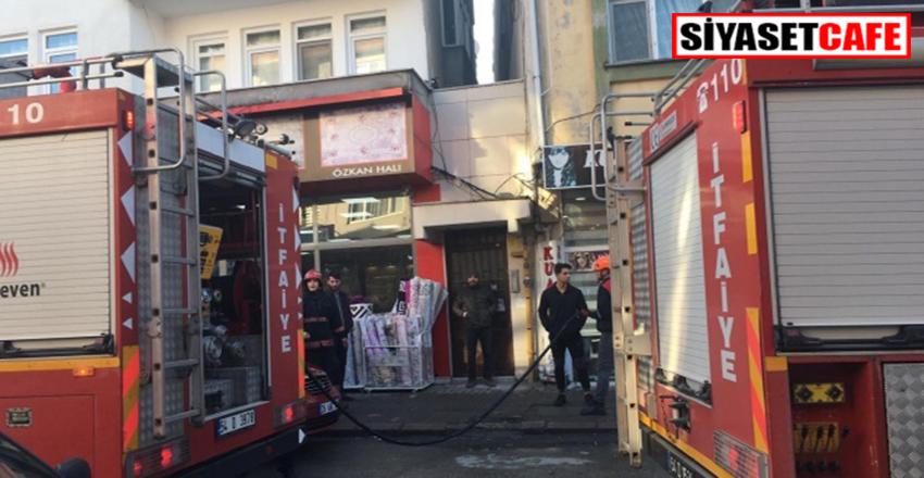 Sakarya'da doğalgaz kaçağı nedeniyle evde yangın çıktı