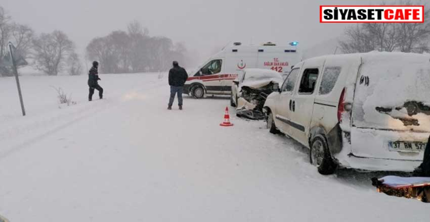 Kastamonu'da feci kaza: 9 yaralı