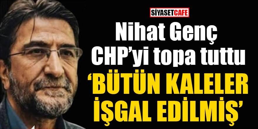 Nihat Genç'ten CHP, İYİ Parti ve Cumhuriyet gazetesine sert eleştiriler