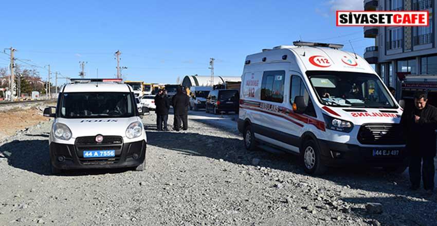 Malatya'da hafriyat kamyonu belediye işçisini ezdi