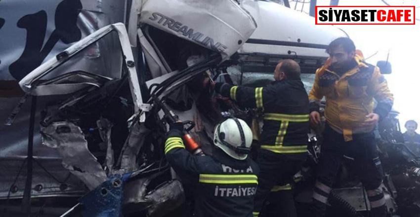 Artvin'de korkunç kaza: 2 yaralı