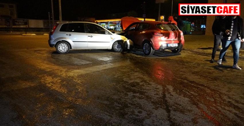Isparta'da feci kaza:6 yaralı