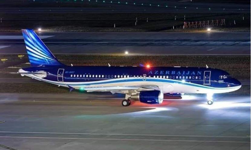 Azerbaycan yardım uçağı Elazığ'da