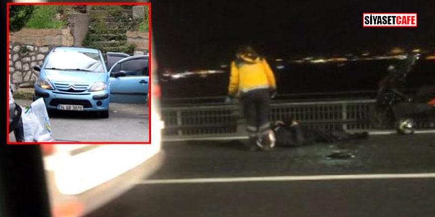 Korkunç olay! Kız arkadaşını öldürüp köprüden atladı