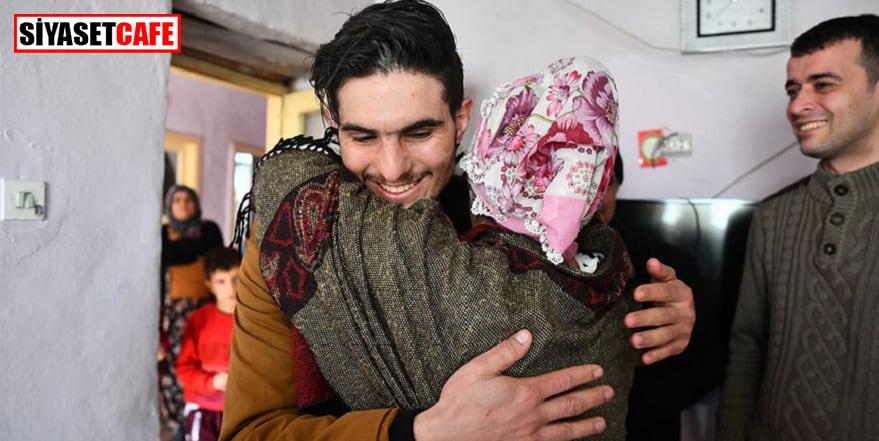 Suriyeli Mahmud ile duygusal buluşma